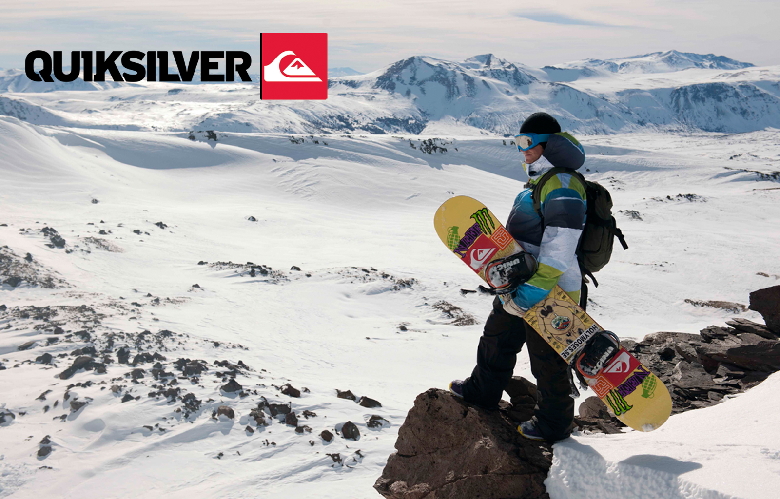 Quiksilver Snow Wallpaper